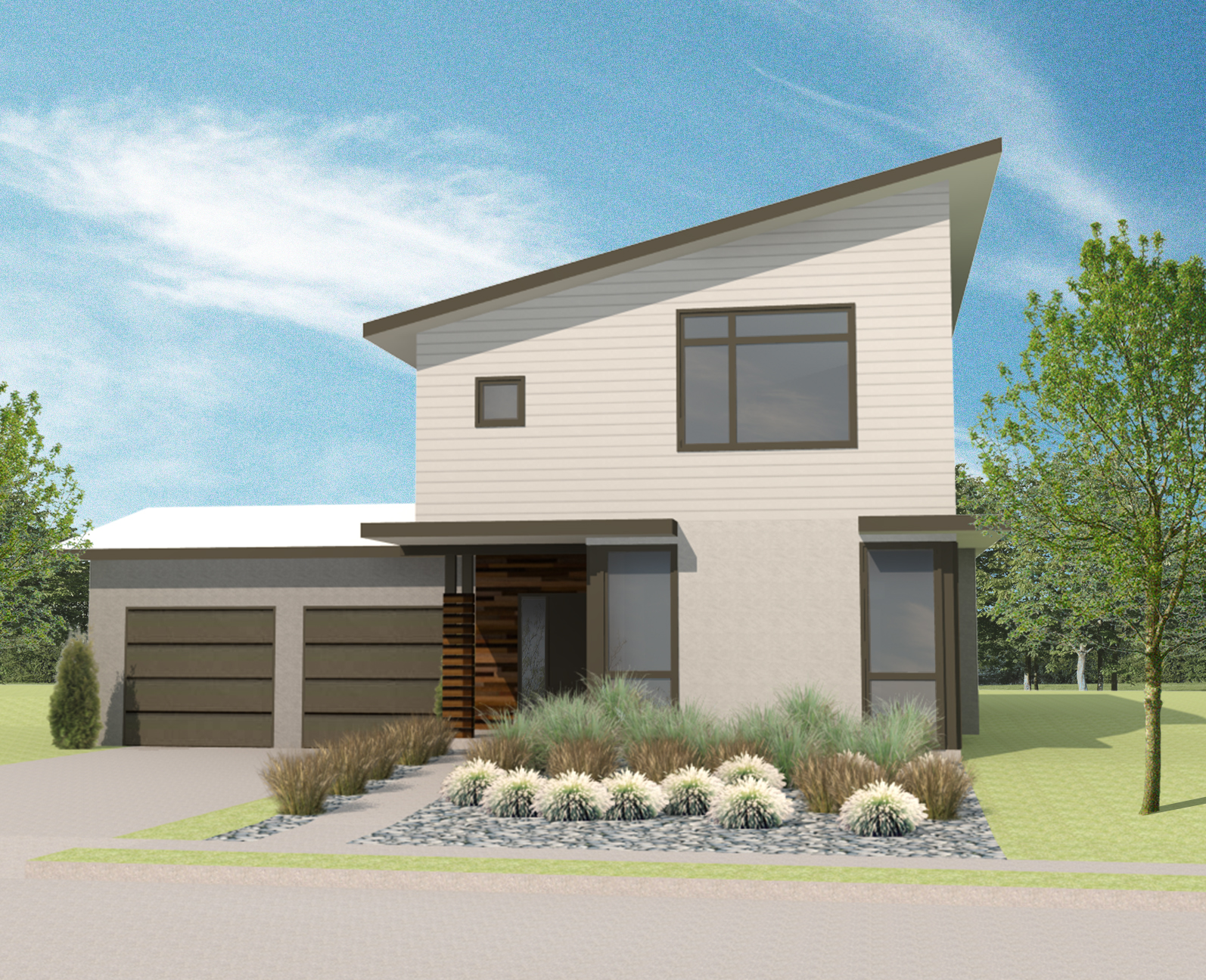 House plan 1 urban north kcmo 39 s new modern subdivision for Urban home plans