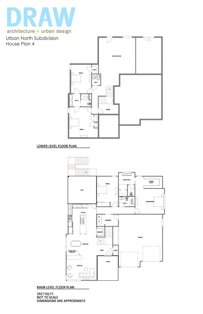 House plan 4 urban north kcmo 39 s new modern subdivision for New urbanism house plans