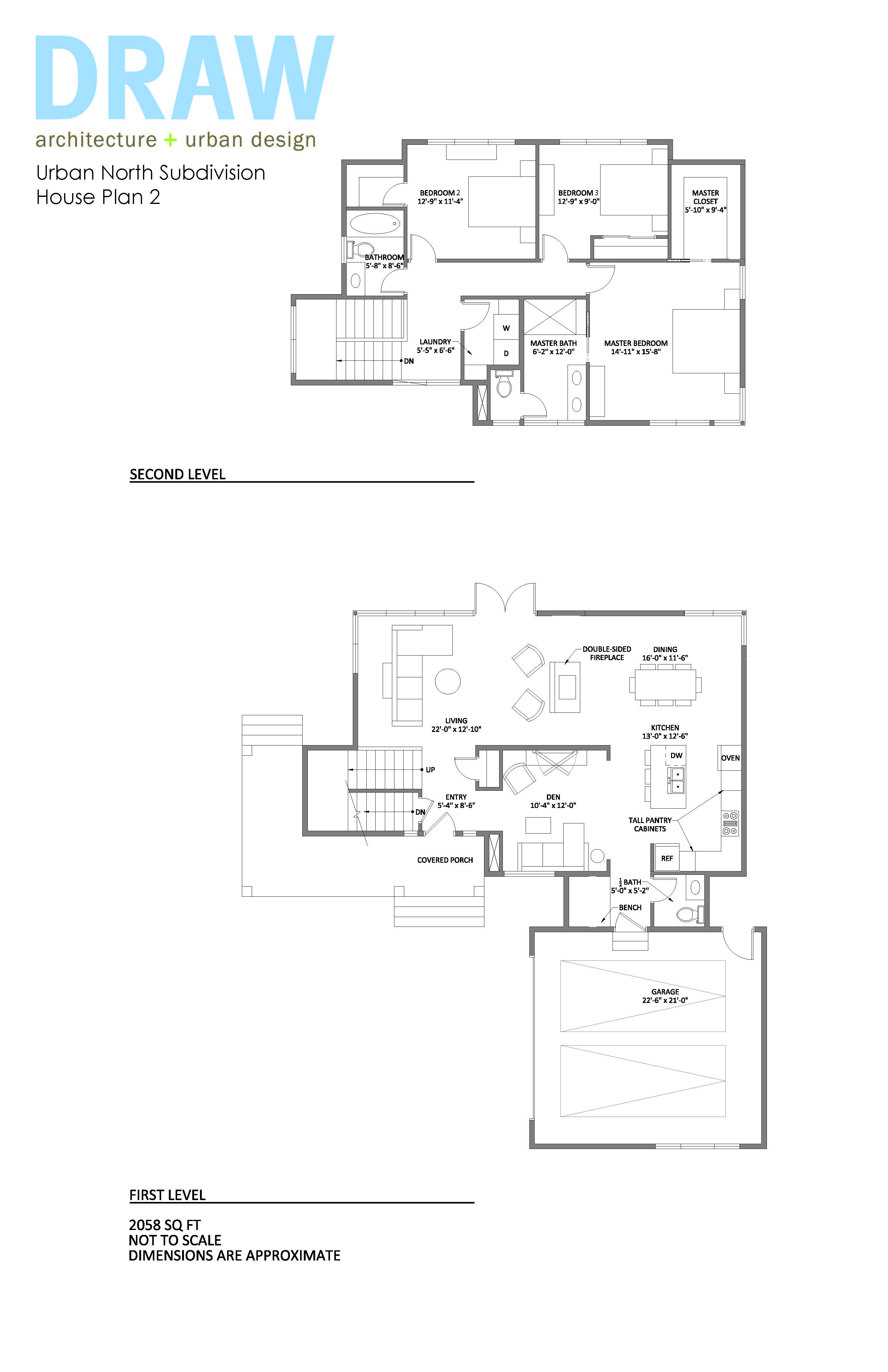 Un plan 2 printable for Printable house plans
