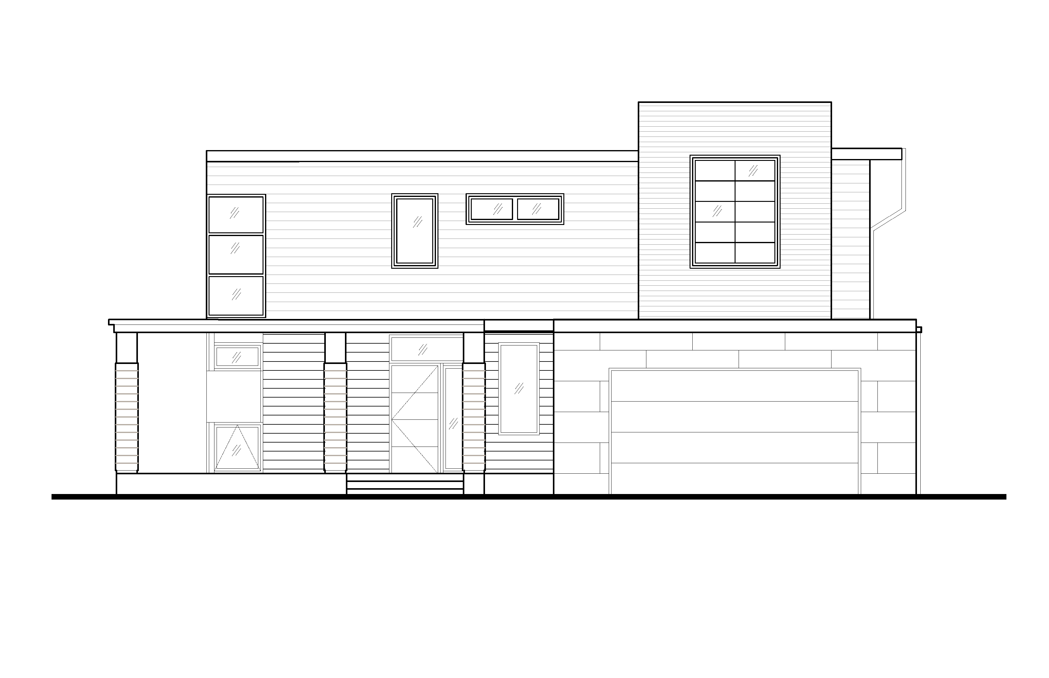 House Plan 2 Elevation B