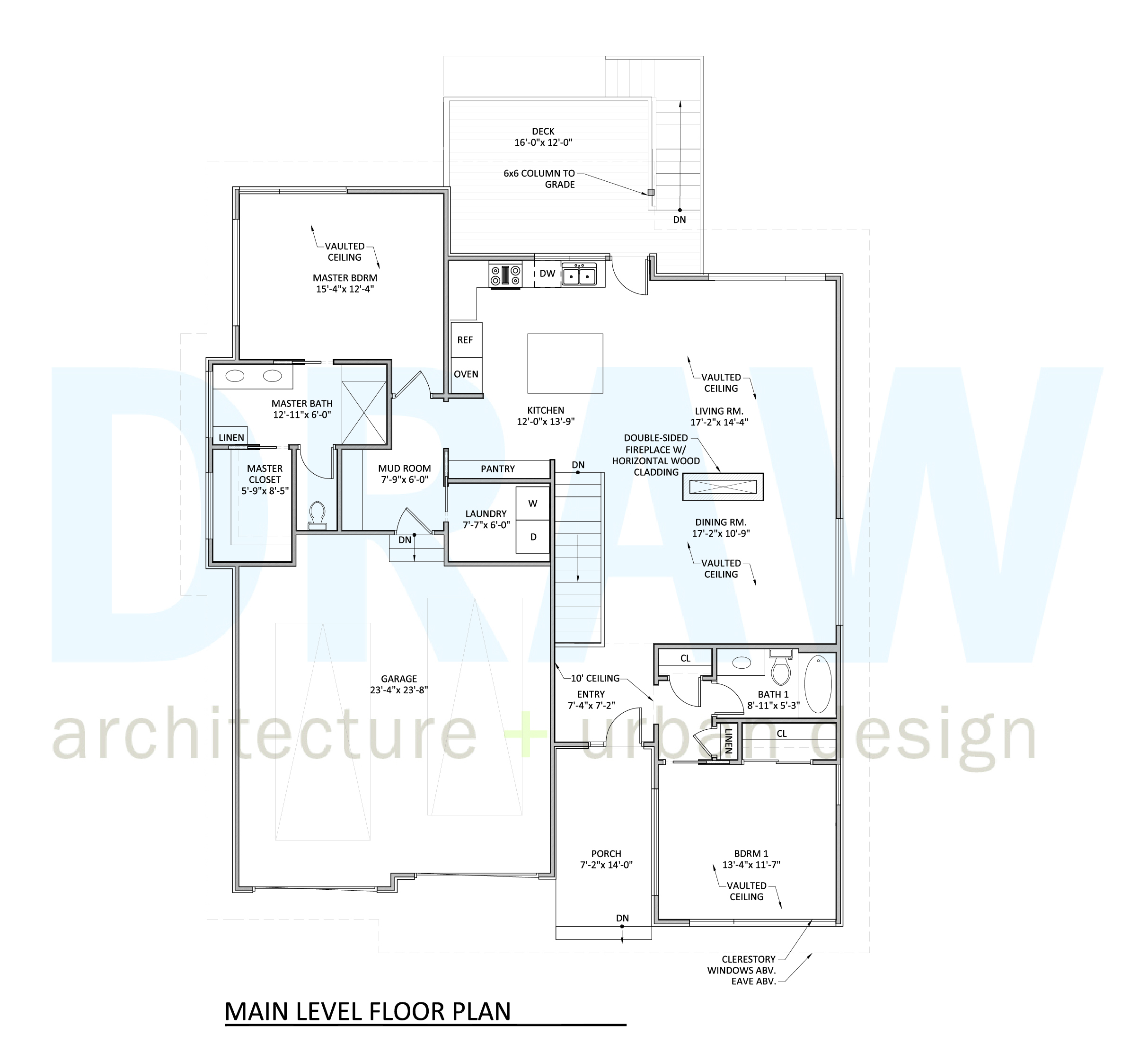 Breathtaking horizontal house plans contemporary ideas for Main level floor plans
