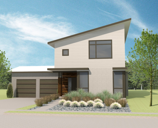 Urban north feature home lot 1 for Urban house plans