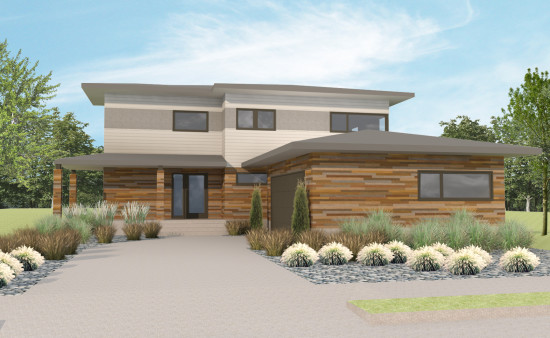 Ground breaking urban north kansas city 39 s new modern for Subdivision house plans