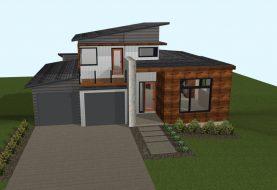 Urban North House Plan 7 Elevation