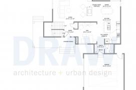 Urban North - House Plan 2 first level floor plan
