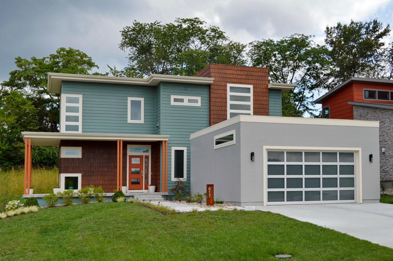 Lot 19 - Urban North; House plan 2 - Elevation B.