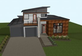 Urban North House Plan 7 Elevation