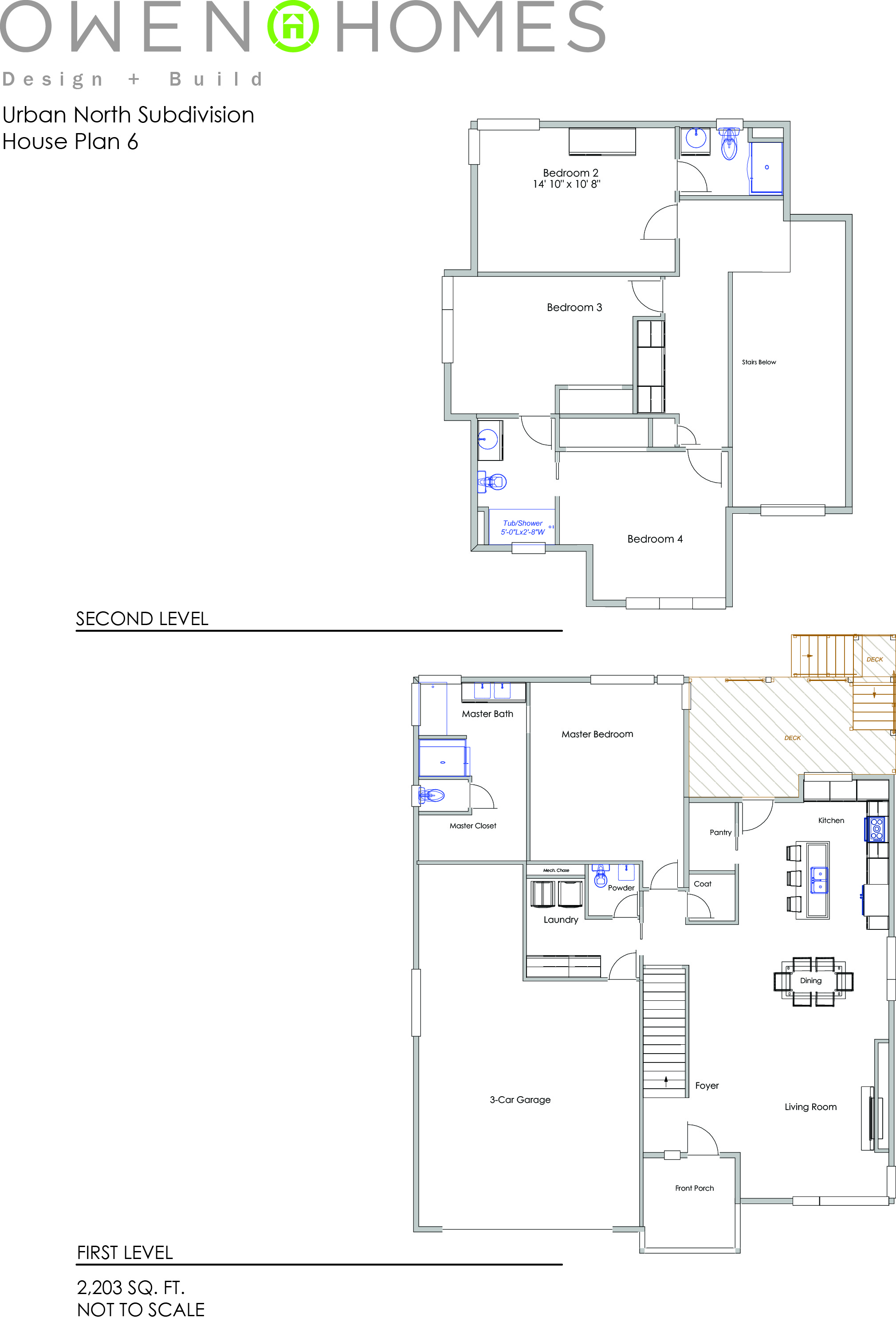 Urban North House Plan 6