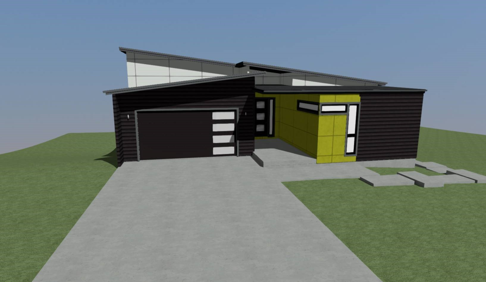 Urban North House Plan 8 Front Elevation